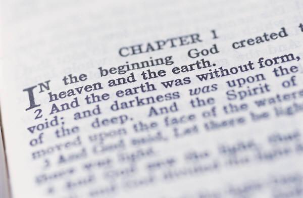 page of Genesis