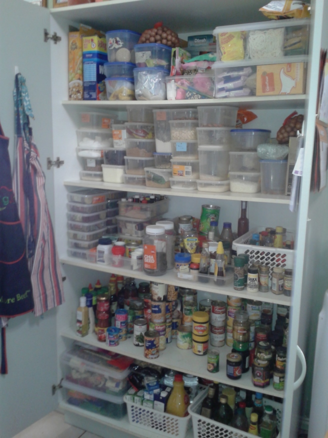 pantry finished product