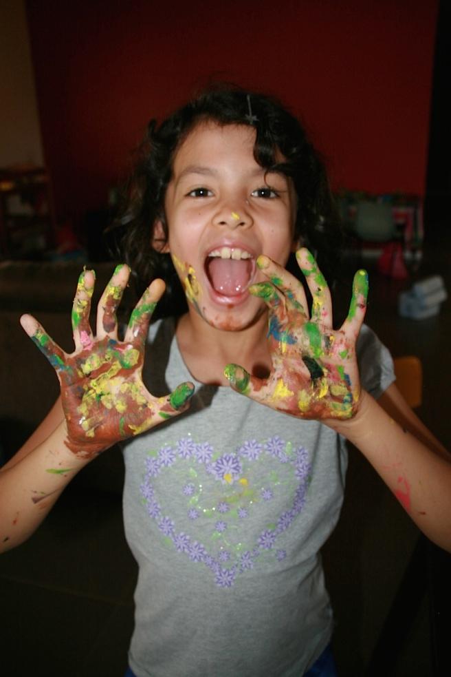 Paint everywhere!
